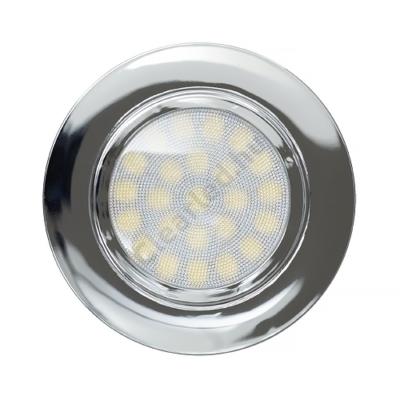 Ultralux LED bútorlámpa króm 4W 330lm IP44 4200K