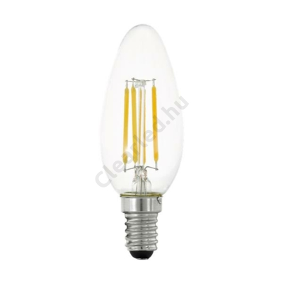 EGLO 11753 E14 4W C35 filament gyertya meleg fehér dim. 3 step