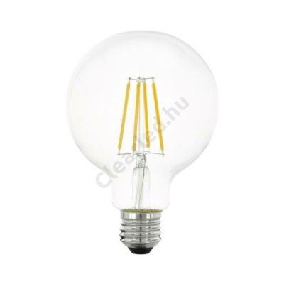 EGLO 11752 E27 G95 6W filament gömb meleg fehér dim. 3 step