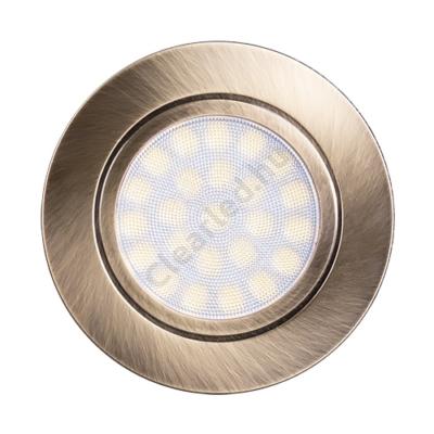 Ultralux LED bútorlámpa matt sárgaréz 4W 330lm IP44 4200K