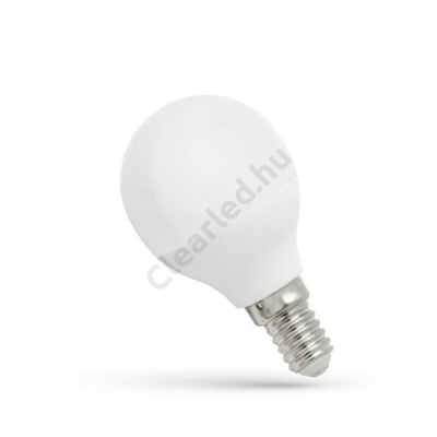 Spectrum LED WOJ13022 kisgömb E14 6W WW, 1év