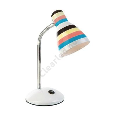 LUXERA N53240117 színes csíkos asztali lámpa