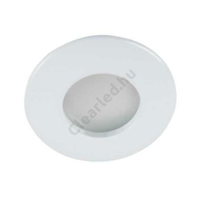 KANLUX 26303 QULES AC O-W fürdőszobai beépíthető lámpa, Gu10, kerek, fehér