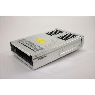 Mean Well ERPF-400-12 LED tápegység 360W fémházas