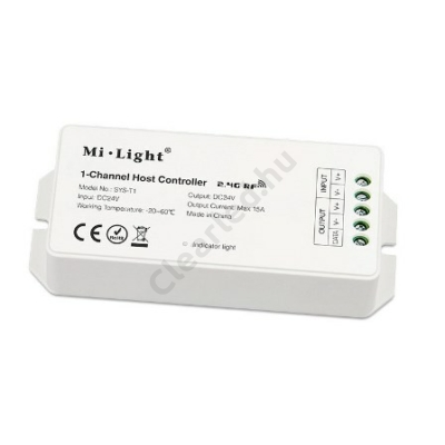 RGB+CCT DC 24V MAX 360W vezérlő kerti lámpákhoz 2,4GHz /SYS T1/