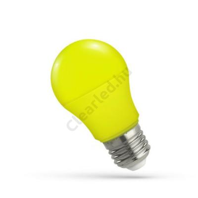 Spectrum LED WOJ14113 E27 5W körte, sárga