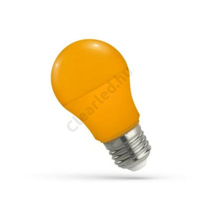 Spectrum LED WOJ14114 E27 5W körte, narancs