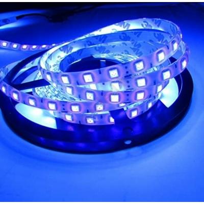 LED szalag UV SMD5050 60LED/m 14,4W IP20 Prémium, Wavelenght 395-405 nm