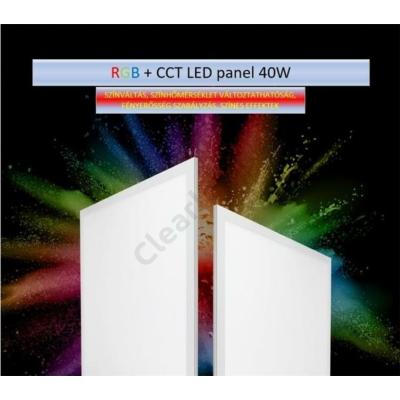 LED panel 40W RGB+CCT FUTL01