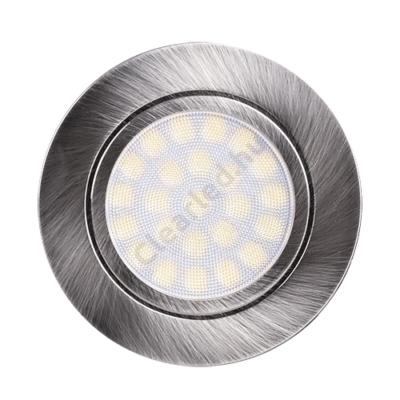 Ultralux LED bútorlámpa szatén nikkel 4W 330lm IP44 4200K