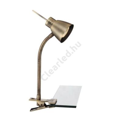 Globo 2477L NUOVA csiptetős lámpa, réz