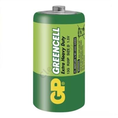 GP B1240 GREENCELL góliát elem, R20