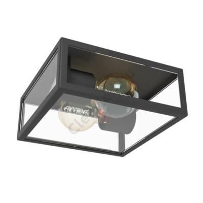 EGLO 94832 ALAMONTE kültéri fali, mennyezeti lámpa, E27 60W fekete