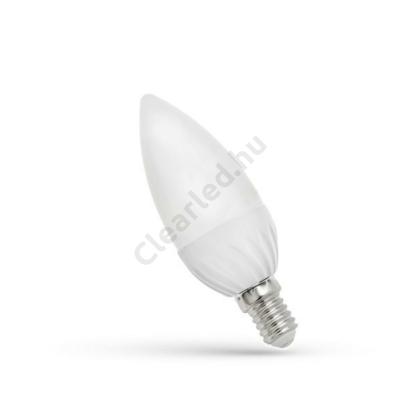 Spectrum LED WOJ13758 gyertya E14 6W NW