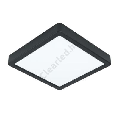 EGLO 99244 FUEVA 5 - falon kívüli LED panel, 16,5W, négyzetes, fekete