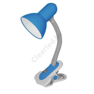 Kanlux 7152 SUZI HR-60-BL csiptetős lámpa, kék