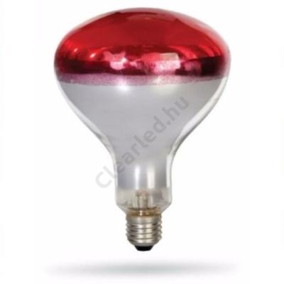 DeLux DEL1001 infra izzó E27 150W R125 rubin