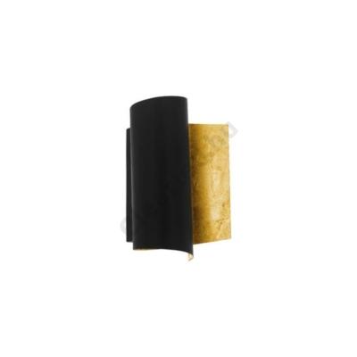 EGLO 98759 FALICETTO fali lámpa E27 fekete/arany