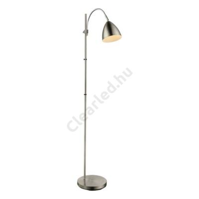 GLOBO 24857S ARCHIBALD állítható magasságú állólámpa, matt króm, E14